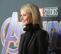 L'attrice Gwyneth Paltrow sul purple carpet di Avengers: Endgame