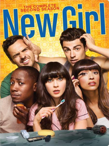 I protagonisti di New Girl in un'immagine promozionale della seconda stagione