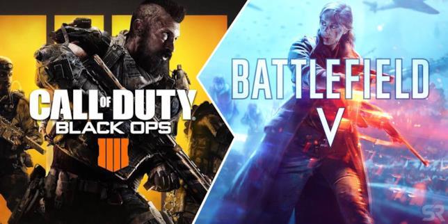 Call of Duty e Battlefield continuano a scontrarsi anche nel 2018
