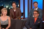 I Vendicatori leggono le storie di Thanos in uno sketch per Jimmy Kimmel