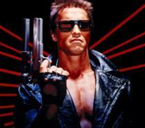 Un'immagine di Arnold Schwarzenegger nell'originale Terminator del 1984, diretto da James Cameron