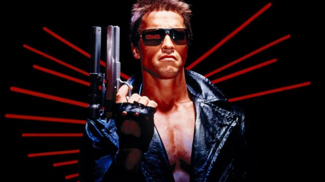 release date: b6109 9cec3 Un immagine di Arnold Schwarzenegger nell originale Terminator del 1984,  diretto da James