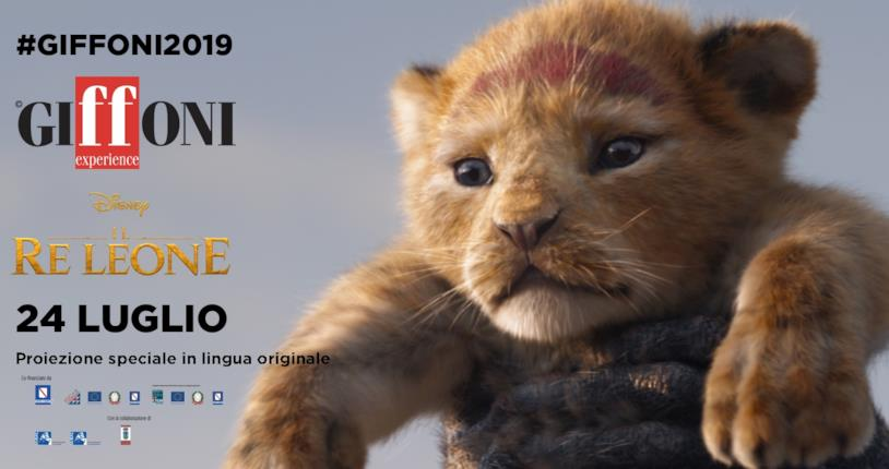 Il Re Leone al Giffoni 2019