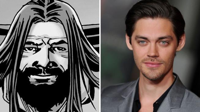 Tom Payne: nel fumetto di TWD Jesus è gay