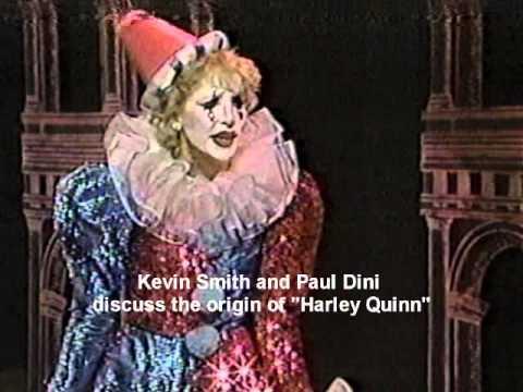 Arleen Sorkin nella scena che ispirò Harley Quinn