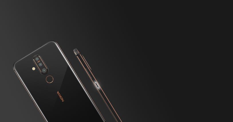 Il design di Nokia X71