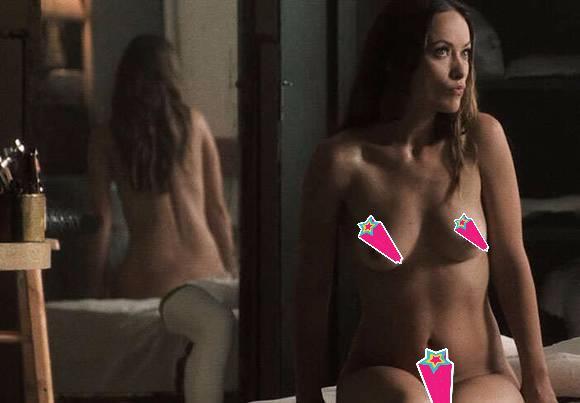Olivia Wilde nuda in Vinyl