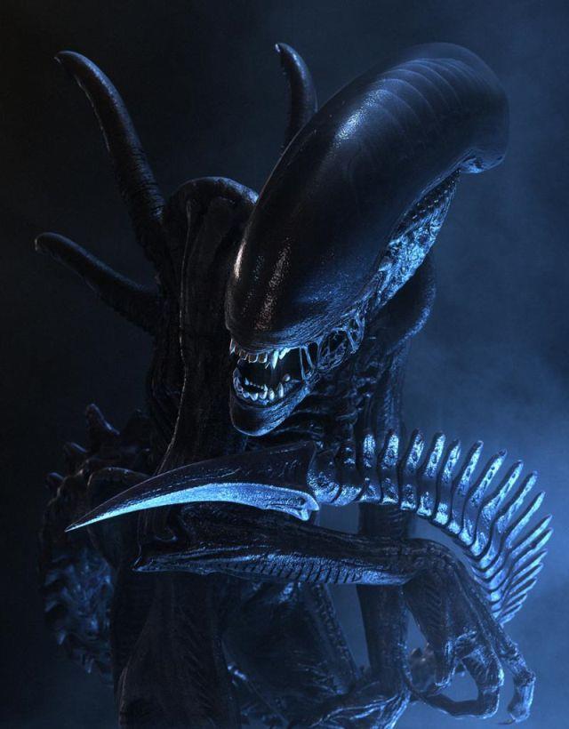 Un'immagine dello Xenomorfo