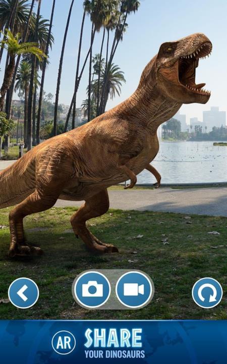 Ludia è al lavoro sul videogame in AR Jurassic World Alive