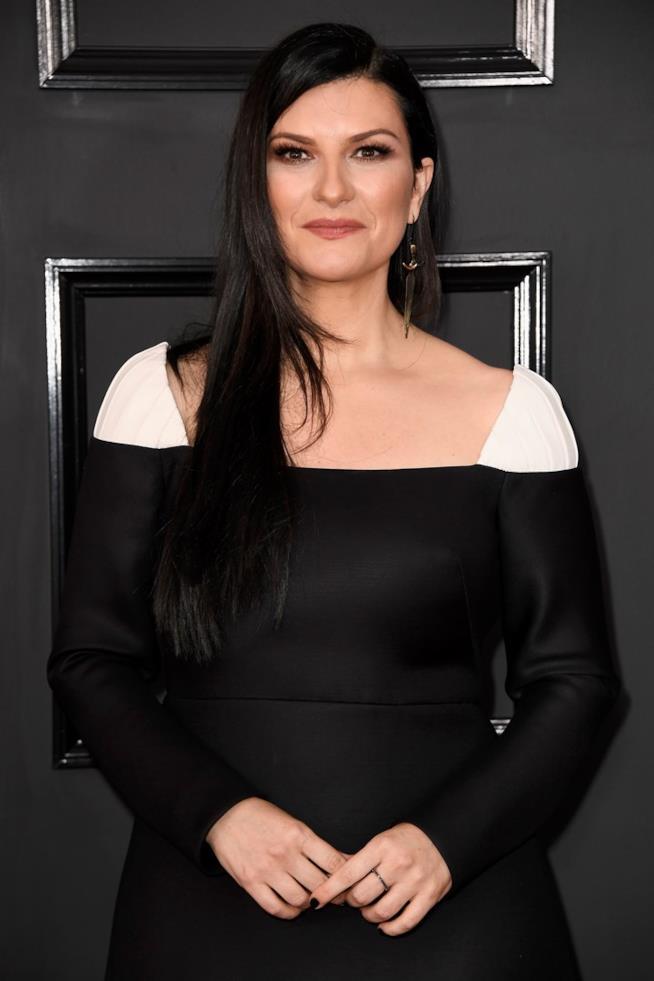 Laura Pausini in primo piano