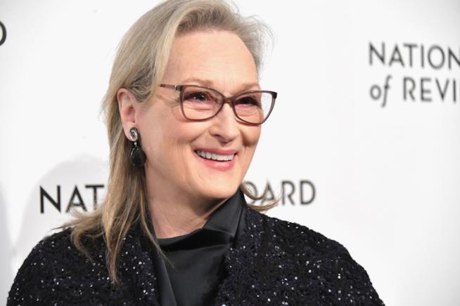 Un primo piano di Meryl Streep