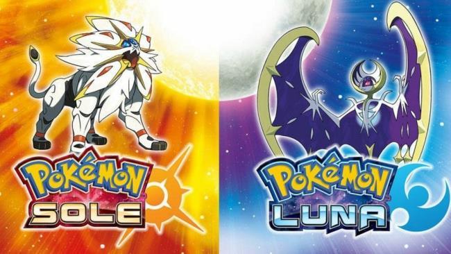 I due Pokémon leggendari di Sole e Luna