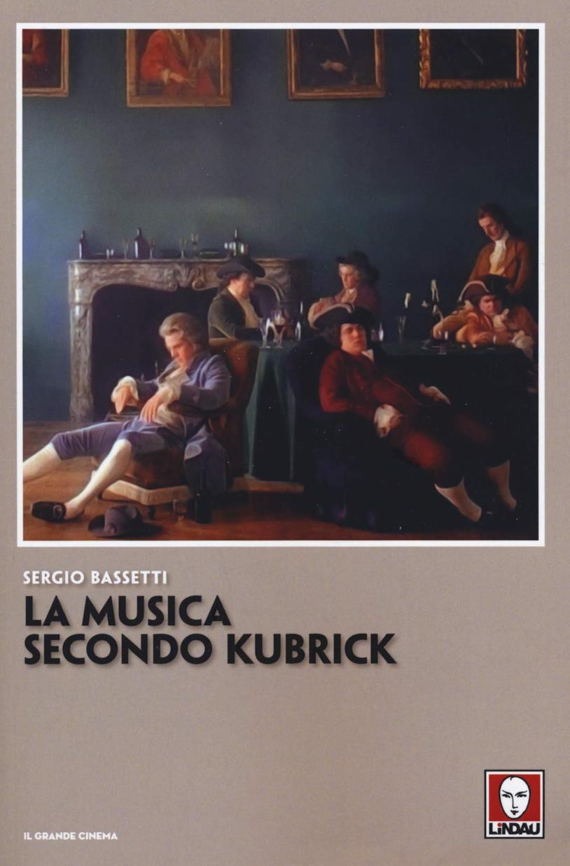 La copertina di La musica secondo Kubrick