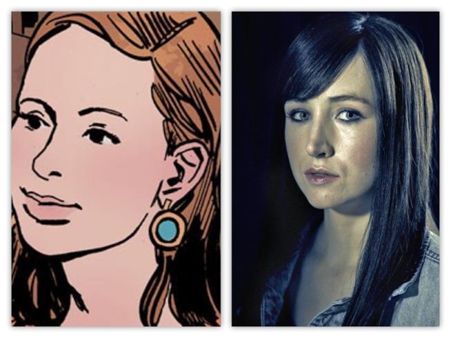 Allison Barnes fra fumetto e serie TV