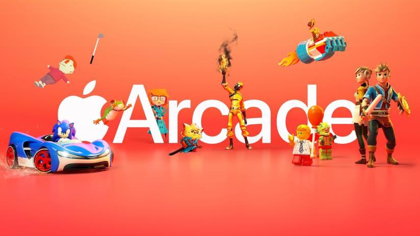 Immagine promozionale di Apple Arcade