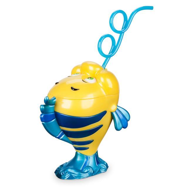 Flounder de La Sirenetta nella versione bicchiere con cannuccia