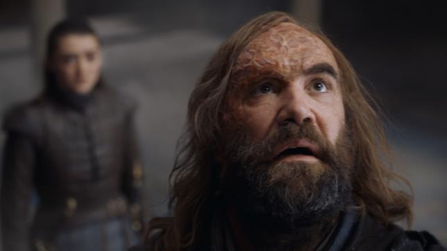 GoT 8x05: Arya e il Mastino nella Fortezza Rossa