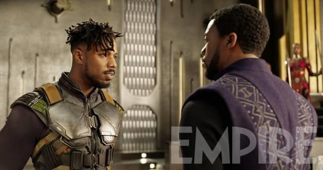 L'eroe e il villain di Black Panther a confronto