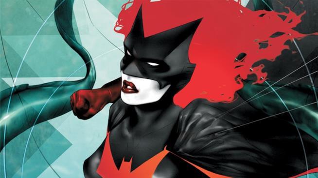 Un'immagine di Batwoman nei fumetti
