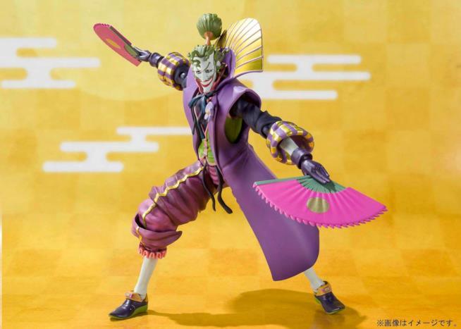 La SH Figuarts Action Figure della versione di Joker presente nel film d'animazione Batman Ninja