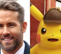 Ryan Reynolds e Pikachu, il famoso Pokémon