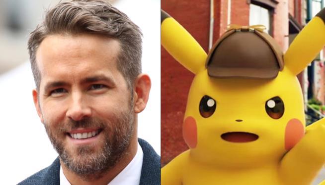Ryan Reynolds sarà Pikachu