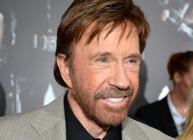 L'attore Chuck Norris
