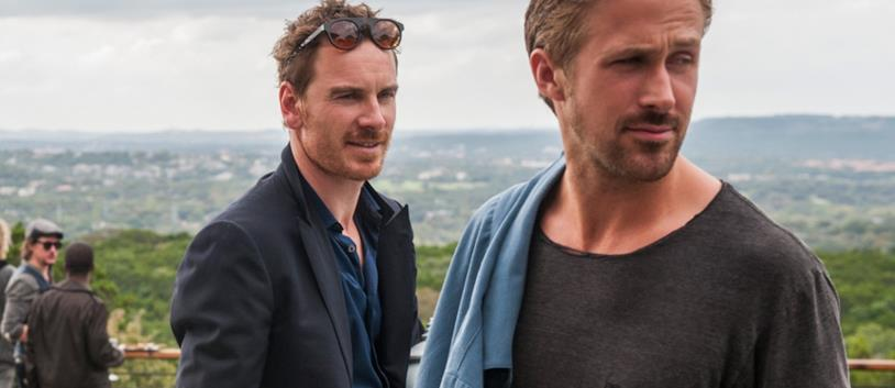 Ryan Gosling e Michael Fassbender sul set di Song to Song