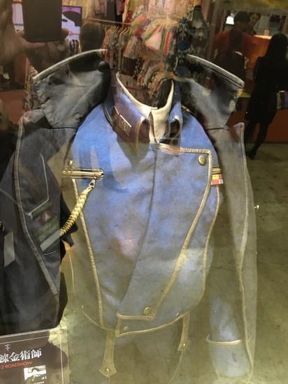 Particolare del costume di Mustang nel live-action di Hagaren