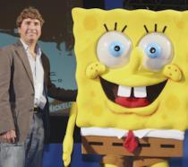 Stephen Hillenburg insieme a SpongeBob