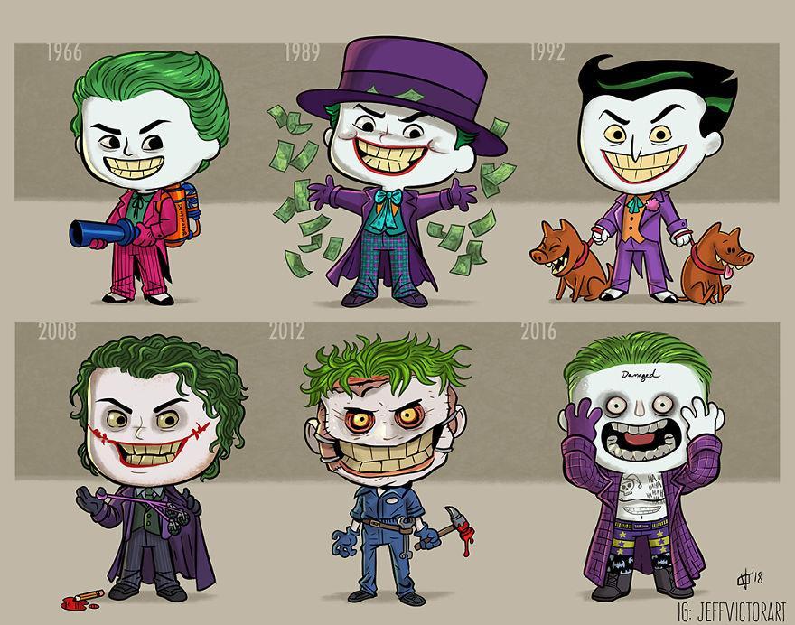 L'evoluzione delle icone della cultura pop: Joker