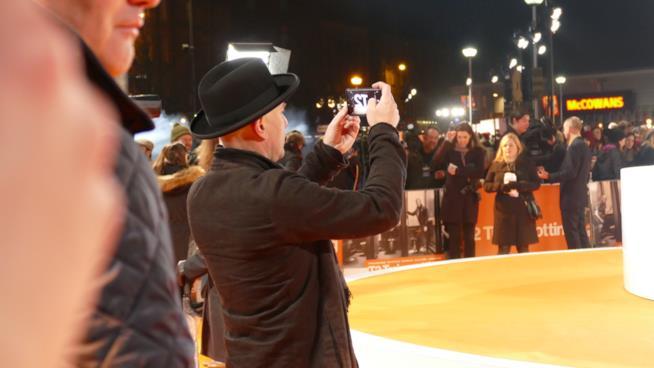 Ewan McGregor e le foto ricordo