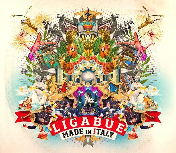 La copertina di Made in Italy, il nuovo album di Luciano Ligabue