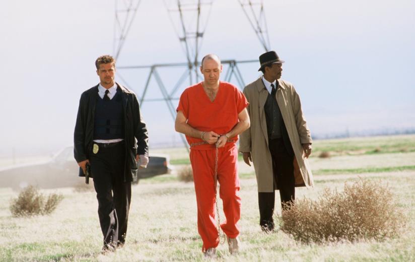 Pitt, Freeman e Spacey nel finale del film