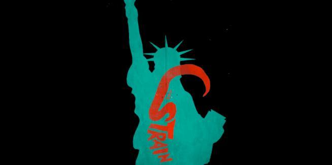 Il nuovo keyart di The Strain 3 con la Statua della Libertà
