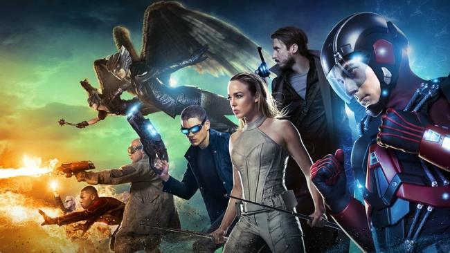 I protagonisti di DC's Legends of Tomorrow