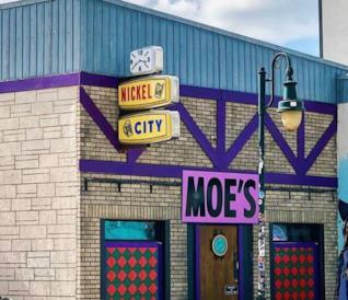 Il Nickel City trasformato nel Bar Boe