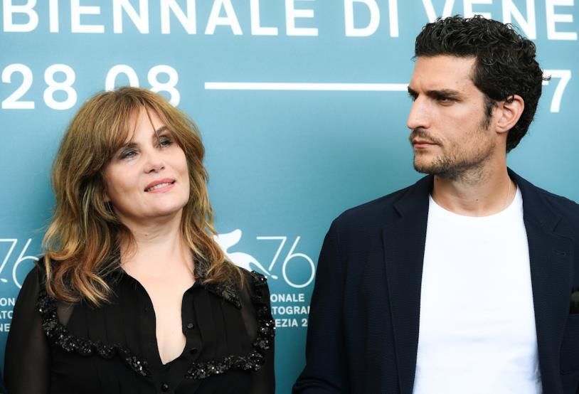 Emanuelle Seigner e Louis Garrel a Venezia