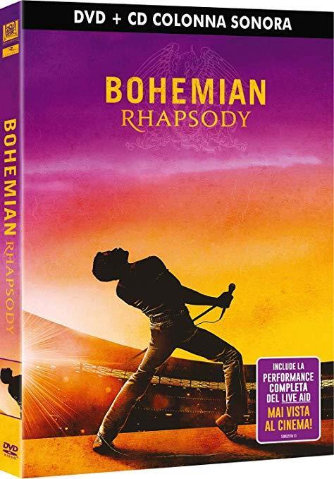 DVD e colonna sonora di Bohemian Rhapsody