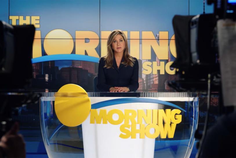 Jennifer Aniston in una scena di The Morning Show