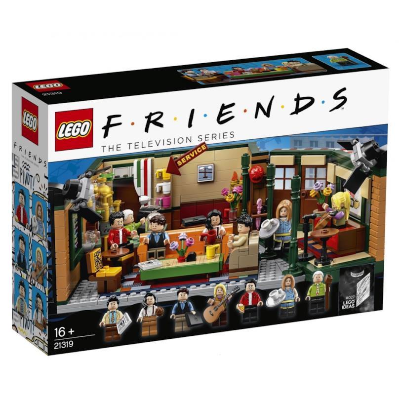 Set 21319: il Central Perk di LEGO