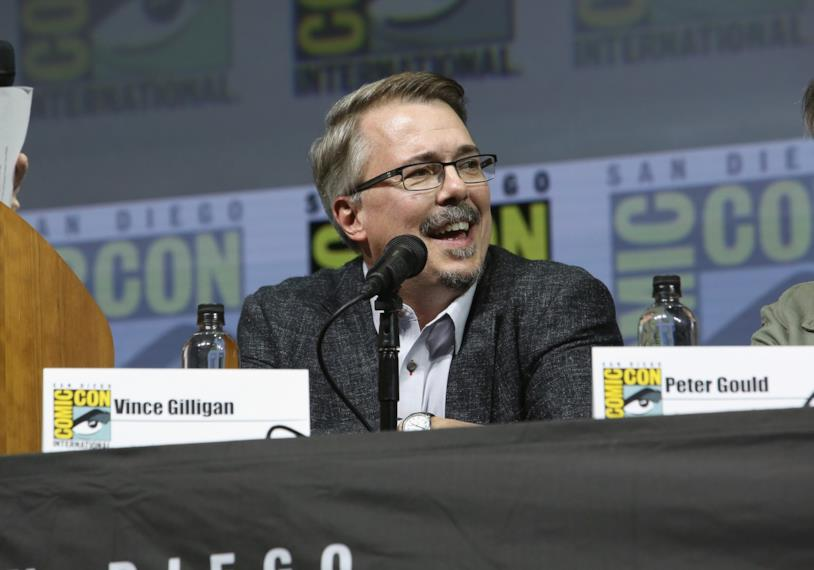 Vince Gilligan, il creatore di Breaking Bad, al Comic-Con del 2018