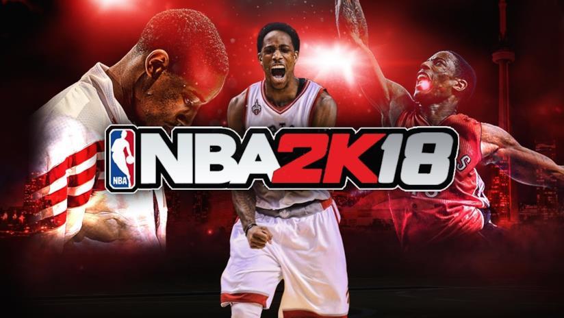 Un'immagine promozionale di NBA 2K18