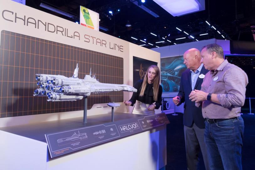 Star Wars: Galactic Starcruiser: la nave intergalattica Halcyon