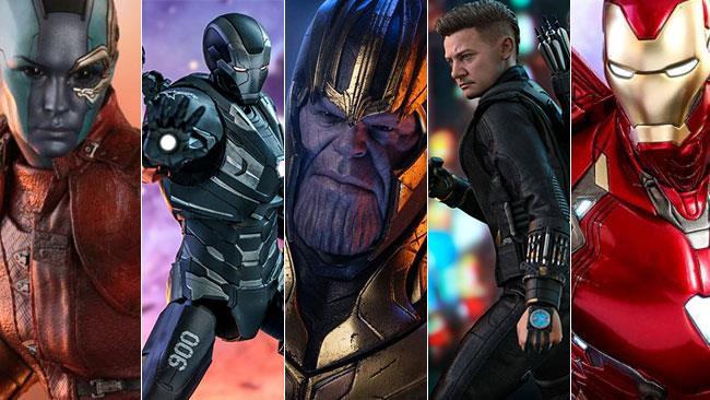 La linea ispirata Hot Toys ad Avengers: Endgame