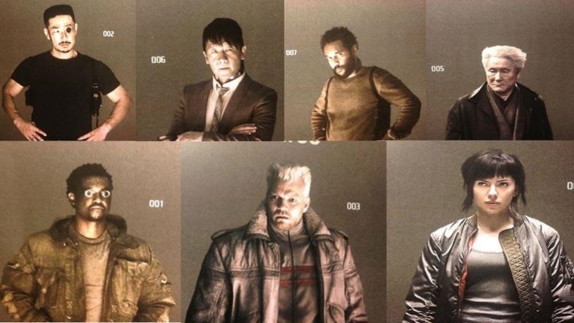 I membri della sezione 9 di Ghost in the Shell