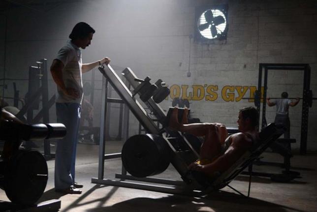 Un giovane Schwarzenegger si allena in Bigger
