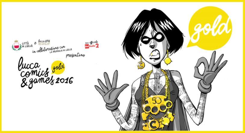 Il poster di Lucca Comics
