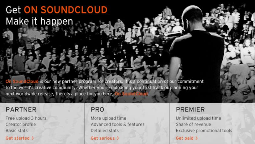 Come guadagnare con SoundCloud Premier
