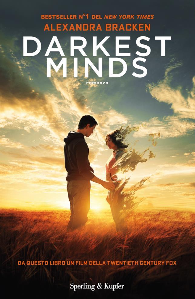 La copertina di Darkest Minds
